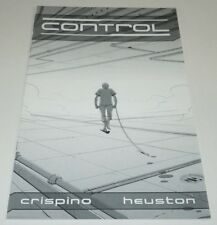 Control Preview #1 Comic Kickstarter Dave Crispino Matt Heuston Black White