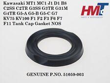 Kawasaki MT1 MC1 C2SS B8 G3 G4 G5 G7 KV75 F1 F2 F3 F6 F7 F11 Tank Cap Gasket NOS