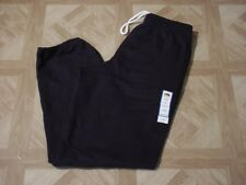 Fruit of the Loom Men's Black Fleece Elastic Bottom Sweat Pants Size 28-30 Small