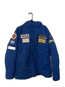 Spyder US Ski Team Thinsulate Medical Audi Visa Jacket-mens Size Large