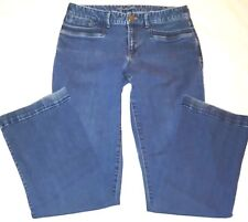 Eddie Bauer Specially Dyed Boot Cut Stretch Jeans Sz 6 Womens 29 Waist 30 length