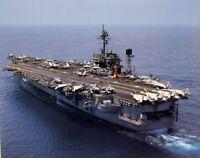 Wall Decor US Navy Aircraft Carrier USS Battleship Aviation Art Poster (16x20)