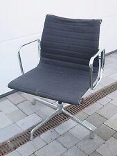 Vitra Charles Ray Eames EA108 Drehstuhl Alu Chair Hopsak schwarz EA 108 #1