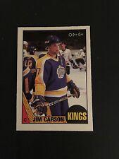 1987-88   OPC  HOCKEY  #92   JIM  CARSON   (R)    NM+