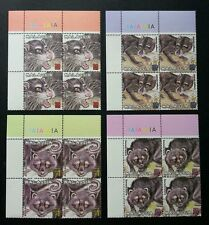 Protected Mammals Series II Malaysia 2000 Cat Wildlife Civet (stamp block 4) MNH