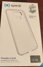 New Speck Presidio Clear Case for Lg G6 - Superior Slim Protection
