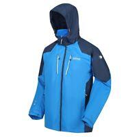Mens Regatta Calderdale III Hooded Breathable Waterproof Jacket Rain Coat RRP£80