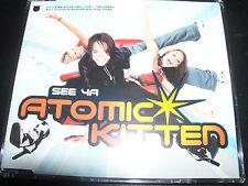Atomic Kitten See Ya UK Enhanced CD Single – Like New