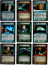 Star Trek CCG  2E Complete 9 Card Tournament Foil Set M/NM