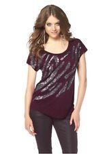 Shirt mit Pailletten von LAURA SCOTT Gr.36/38 NEU