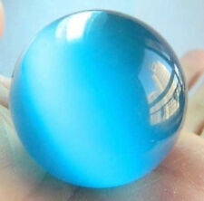40mm Blue Mexican Opal Sphere, Crystal Ball/Gemstone + Stand