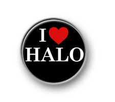 """HALO / 1"""" / 25mm pin button / badge / gaming / online / console / Xbox / PS"""