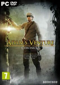 Adams Venture chronicles Trilogy & the ball uncut   new&sealed