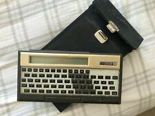 HP-75C Calculator with case