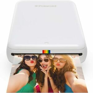 Polaroid ZIP Mobile Photo Printer With No Ink Technology for ios and android Wht