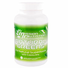 NATURAL GREENS CAPSULES | EASY TO USE | WEIGHT LOSS | MISSION NUTRITION |