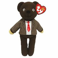 Official TY Beanie * Mr Bean * Teddy Bear in Jacket & Tie