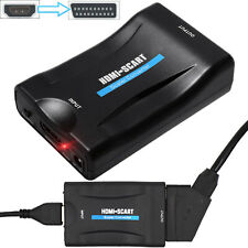 1080P HDMI to SCART AV Converter Video Audio Adapter for DVD STB SKY BOX PS4 UK