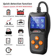 Digital CCA Car Battery Load Tester Analyzer 12V 100-2000CCA Battery Test Tool