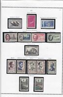 france 1957 stamps page ref 19801