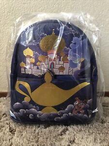 Loungefly Disney Aladdin Jasmine Castle Series Mini Backpack IN Hand NEW