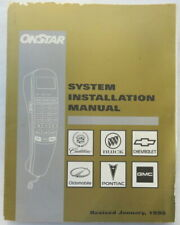 1998 On Star Installation GMC Cadillac Buick Chevrolet Oldsmobile Pontiac Manual