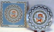 1986 Lucy & Me Porcelain Baby Boy Plate Enesco 210552 It'S A Boy