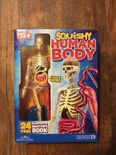 Squishy Human Body Smart Lab Anatomy Education Home School Teacher New Open Box