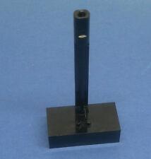 LEGO Lenkstein schwarz 2x4x1 mit Stab 2 Lenk-Noppen 70er Jahre pat pend