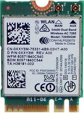 Intel Dell Dual Band Wireless AC 7265 WLAN WiFi Mini-PCI E Card XXY3M 0XXY3M