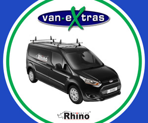Rhino Products 2 Delta Bars for a Citroen Berlingo 2008-2018 w/ Load Stops