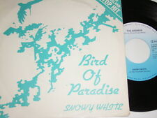 "7"" - Snowy White Bird of Paradise & The Answer - 1984 # 2725"