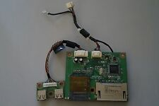 Card Readers & USB Ports Boards PTB-1767 & PTB-1872 Genuine FOR Dell 3008WFP