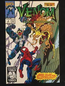 """Venom: Lethal Protector #4 NM 9.2 """"Death"""" of Eddie Brock 1st SCREAM marvel 1993"""