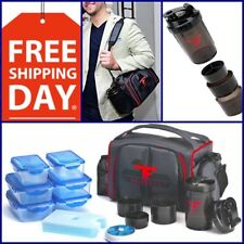 Best Lunch Bag Box Cup Tote Storage Bento Food Container Bottle Shake Gym Bag