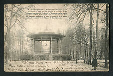 Posted 1912 View of the Band Stand, Saint Quentin, France