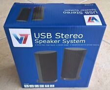USB Stereo Speaker System, BRAND NEW, Sound Bar or Free-Standing, USA Shipping