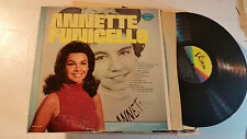 ANNETTE FUNICELLO SELF TITLED LP orig BV 4037 MONO '72 disney mickey mouse club!