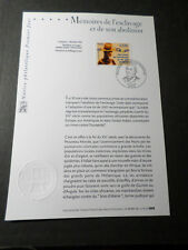 FRANCE 2006 NOTICE FDC timbre 3903, ESCLAVAGE ABOLITION, 1° JOUR ABOLISH SLAVERY