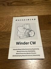 Hasselblad CW Winder for 503 series - Manual