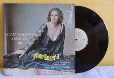 PILAR GUERRA LA VOZ ROMANTICA Y SENSUAL DE MEXICAN LP PROMO STAMPED BOLERO