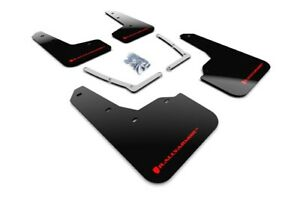 Rally Armor UR Black Mud Flaps w/ Red Logo for 2016-2021 Civic Sedan & Coupe