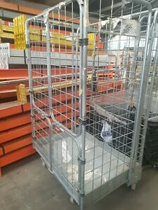 Warehouse Used Metal Roll Cages - 4 sided