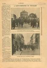 Inventaires Église Saint-Symphorien de Versailles Yvelines 1906 ILLUSTRATION
