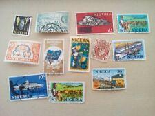 lot N°22 - 11 timbres nigeria