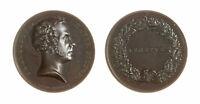 s1167_8) Medaglia Francesco Hayez (1840) Pittore Veneto Op Manfredini AE Ø 42