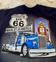 "Route 66 ""Truck Driver"" T-Shirt Medium New No Tags"