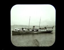 Magic Lantern Slide Steamer Chautauqua at Mayville Lake Chautauqua NY c1900 ship