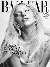 Harpers Bazaar Magazine Lady Gaga Veronica Swanson Beard Fashion Marisa Berenson