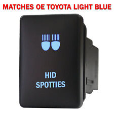 Push switch 992NB 12volt For Toyota OEM HID SPOTTIES Tacoma LED NEW BLUE